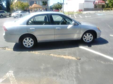2003 Honda Civic for sale at Old Bull Motors Inc. in Snellville GA