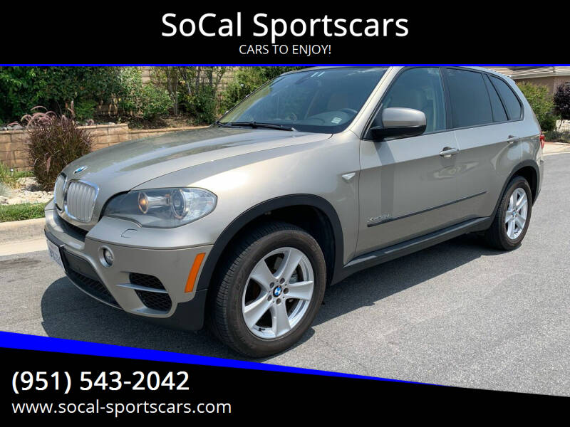2011 BMW X5 for sale at SoCal Sportscars in Covina CA