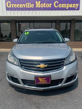 2015 Chevrolet Traverse for sale at East Carolina Auto Exchange in Greenville NC