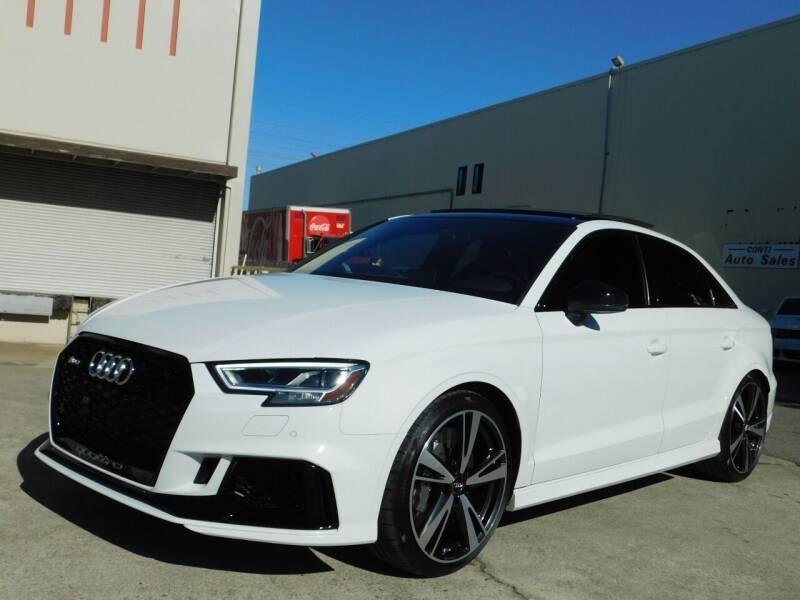 2018 Audi RS 3 for sale at Conti Auto Sales Inc in Burlingame CA
