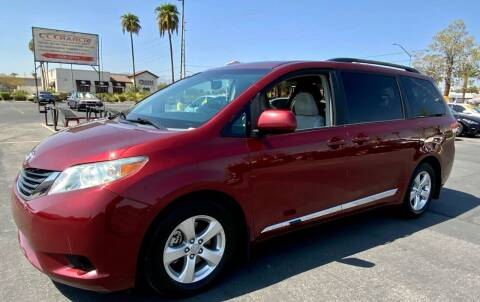 2011 Toyota Sienna for sale at Charlie Cheap Car in Las Vegas NV
