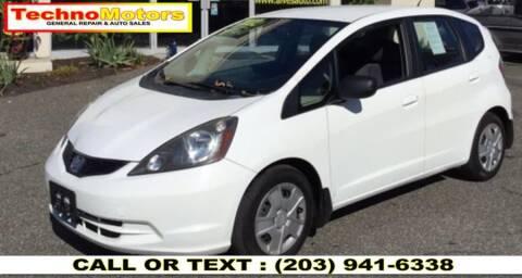 2012 Honda Fit for sale at Techno Motors in Danbury CT