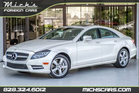 2013 Mercedes-Benz CLS for sale at Mich's Foreign Cars in Hickory NC