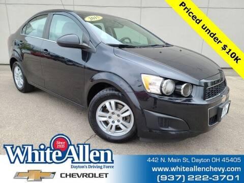 2015 Chevrolet Sonic for sale at WHITE-ALLEN CHEVROLET in Dayton OH
