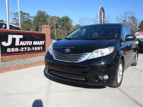 2015 Toyota Sienna for sale at J T Auto Group in Sanford NC