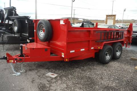 2021 Quality Steel 83x14 DUMP 14K for sale at Bryan Auto Depot in Bryan OH