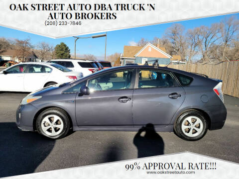 2012 Toyota Prius for sale at Oak Street Auto DBA Truck 'N Auto Brokers in Pocatello ID