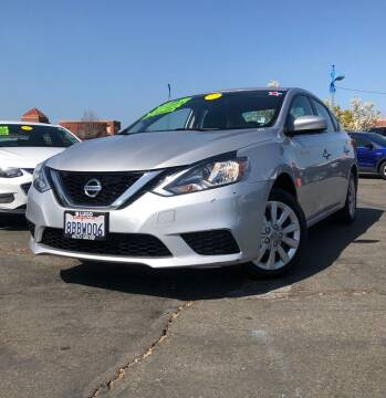 2017 Nissan Sentra for sale at LUGO AUTO GROUP in Sacramento CA