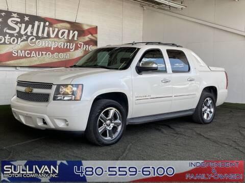 2012 Chevrolet Avalanche for sale at SULLIVAN MOTOR COMPANY INC. in Mesa AZ
