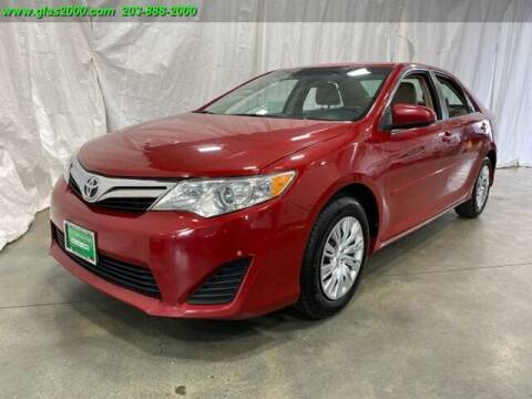 2013 Toyota Camry for sale at Green Light Auto Sales LLC in Bethany CT