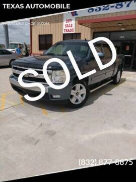 2008 Chevrolet Silverado 1500 for sale at TEXAS AUTOMOBILE in Houston TX