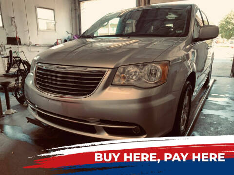 2011 Chrysler Town and Country for sale at Marti Motors Inc in Madison IL