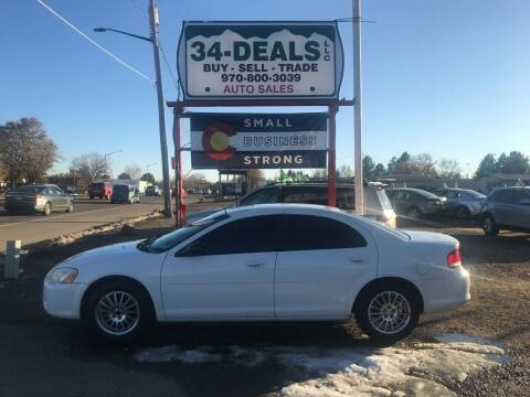 2004 Chrysler Sebring for sale at 34 Deals LLC in Loveland CO