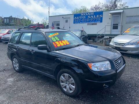 2008 Subaru Forester for sale at Noah Auto Sales in Philadelphia PA