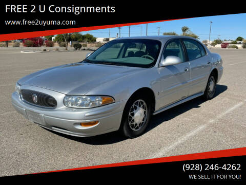 2003 Buick LeSabre for sale at FREE 2 U Consignments in Yuma AZ