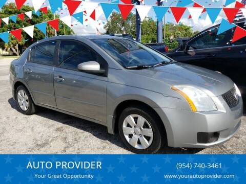2007 Nissan Sentra for sale at AUTO PROVIDER in Fort Lauderdale FL
