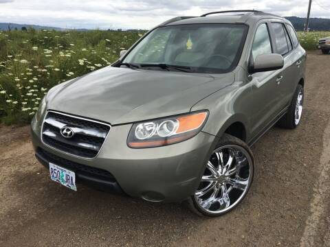 2007 Hyundai Santa Fe for sale at M AND S CAR SALES LLC in Independence OR