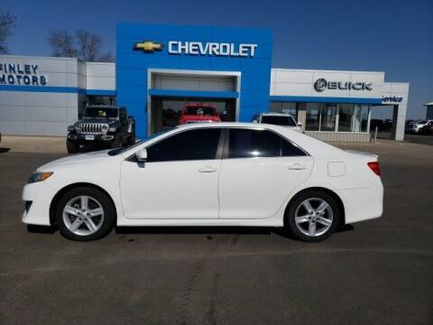 2013 Toyota Camry for sale at Finley Motors in Finley ND