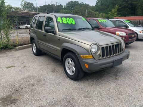 2007 Jeep Liberty for sale at Super Wheels-N-Deals in Memphis TN