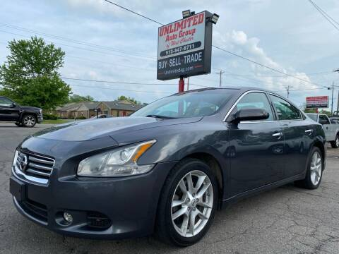 2013 Nissan Maxima for sale at Unlimited Auto Group in West Chester OH