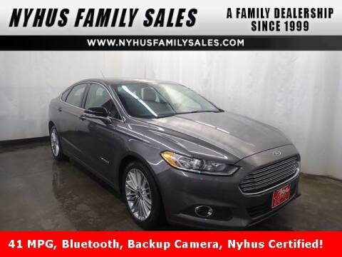2014 Ford Fusion Hybrid for sale at Nyhus Family Sales in Perham MN