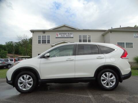 2012 Honda CR-V for sale at SOUTHERN SELECT AUTO SALES in Medina OH