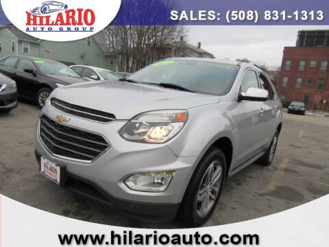 2017 Chevrolet Equinox for sale at Hilario's Auto Sales in Worcester MA