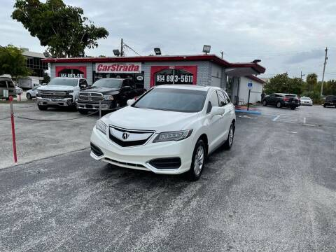 2017 Acura RDX for sale at CARSTRADA in Hollywood FL