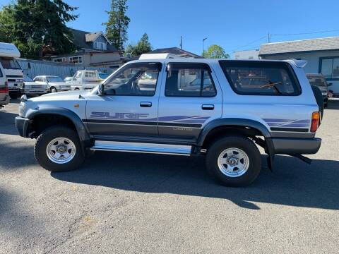 1994 Toyota Hilux Surf Diesel 1KZ-TE for sale at JDM Car & Motorcycle LLC in Seattle WA