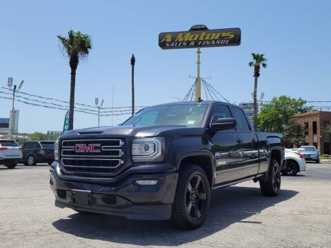 2016 GMC Sierra 1500 for sale at A MOTORS SALES AND FINANCE - 6226 San Pedro Lot in San Antonio TX