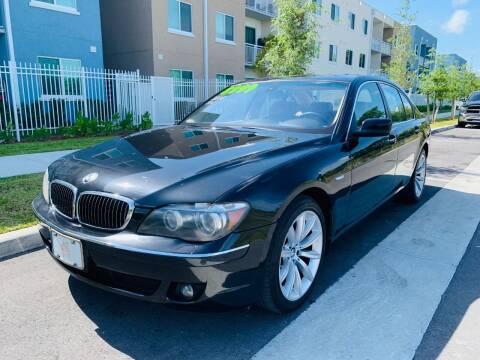 2008 BMW 7 Series for sale at LA Motors Miami in Miami FL