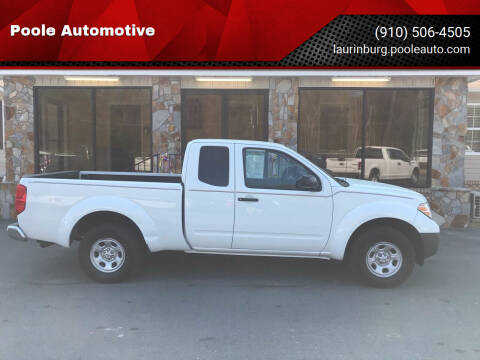 2015 Nissan Frontier for sale at Poole Automotive in Laurinburg NC