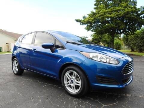 2018 Ford Fiesta for sale at SUPER DEAL MOTORS 441 in Hollywood FL