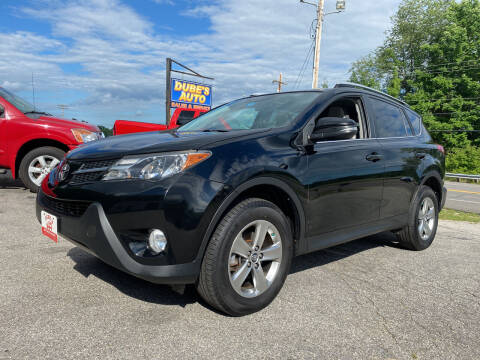 2015 Toyota RAV4 for sale at Dubes Auto Sales in Lewiston ME