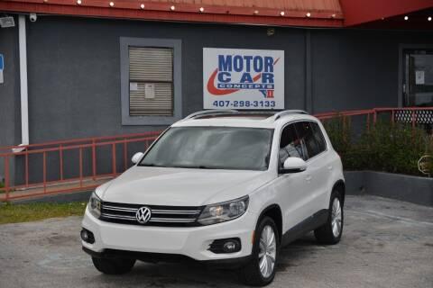 2012 Volkswagen Tiguan for sale at Motor Car Concepts II - Kirkman Location in Orlando FL