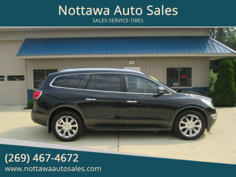 2010 Buick Enclave for sale at Nottawa Auto Sales in Nottawa MI