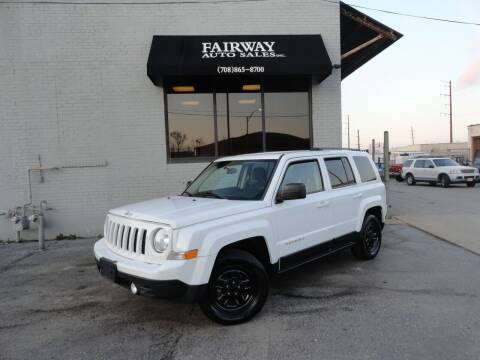 2014 Jeep Patriot for sale at FAIRWAY AUTO SALES, INC. in Melrose Park IL