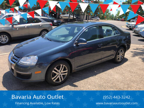 2006 Volkswagen Jetta for sale at Bavaria Auto Outlet in Victoria MN