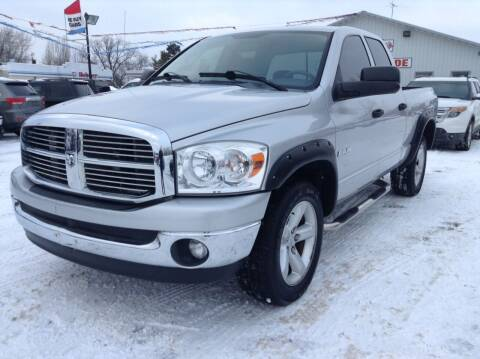 2008 Dodge Ram Pickup 1500 for sale at Steves Auto Sales in Cambridge MN