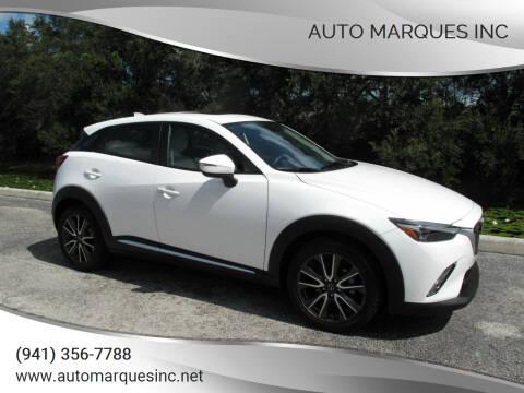 2016 Mazda CX-3 for sale at Auto Marques Inc in Sarasota FL