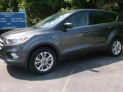 2017 Ford Escape for sale at Luv Motor Company in Roland OK