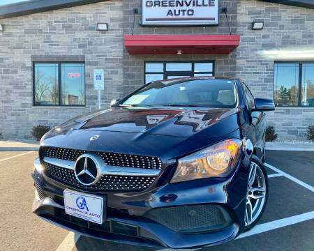 2018 Mercedes-Benz CLA for sale at GREENVILLE AUTO & RV in Greenville WI