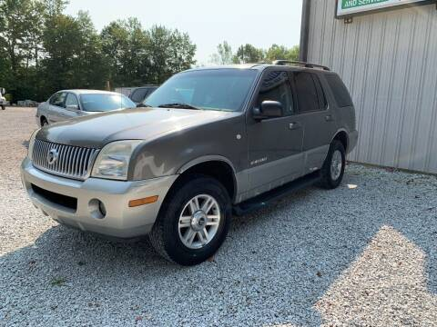 2002 Mercury Mountaineer for sale at Doyle's Auto Sales and Service in North Vernon IN