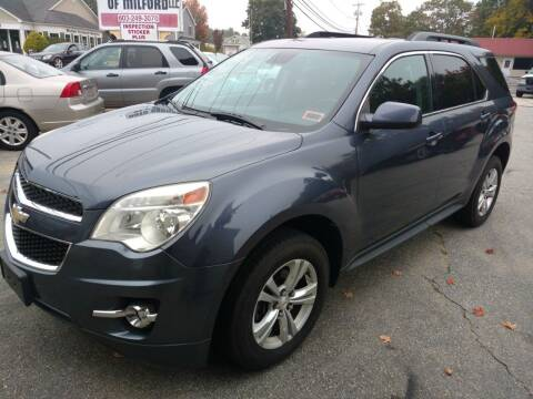 2013 Chevrolet Equinox for sale at Auto Brokers of Milford in Milford NH