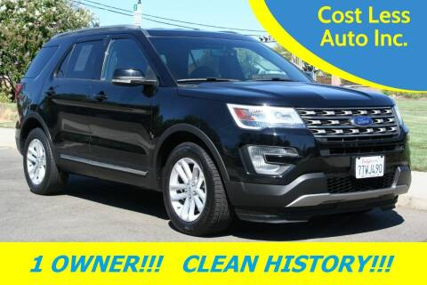 2017 Ford Explorer for sale at Cost Less Auto Inc. in Rocklin CA