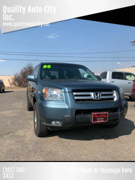 2008 Honda Pilot for sale at Quality Auto City Inc. in Laramie WY