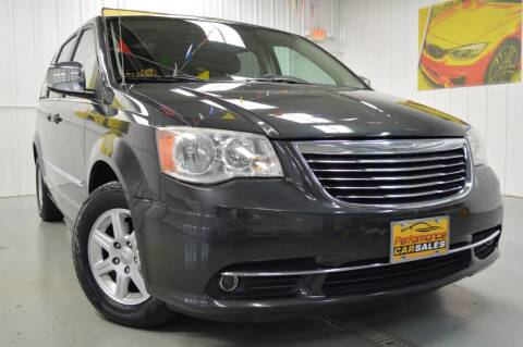 2012 Chrysler Town and Country for sale at Performance car sales in Joliet IL