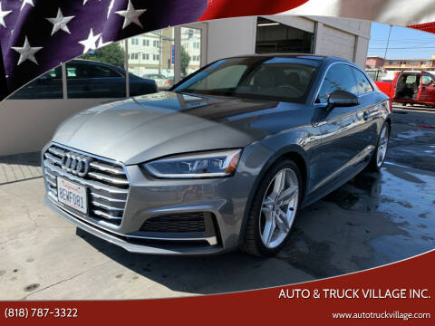 2018 Audi A5 for sale at Auto & Truck Village Inc. in Van Nuys CA