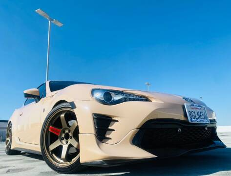 2017 Toyota 86 for sale at Bay Cars R Us in San Jose CA