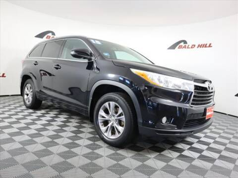 2015 Toyota Highlander for sale at Bald Hill Kia in Warwick RI